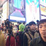 【ハロウィン】フォックス面が大阪のハロウィンに参加して埋もれてきた!!