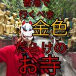 【写真多量】香港で金色の仏像だらけの萬佛寺に行ってみた。あまりの多さに金運アップしそう。